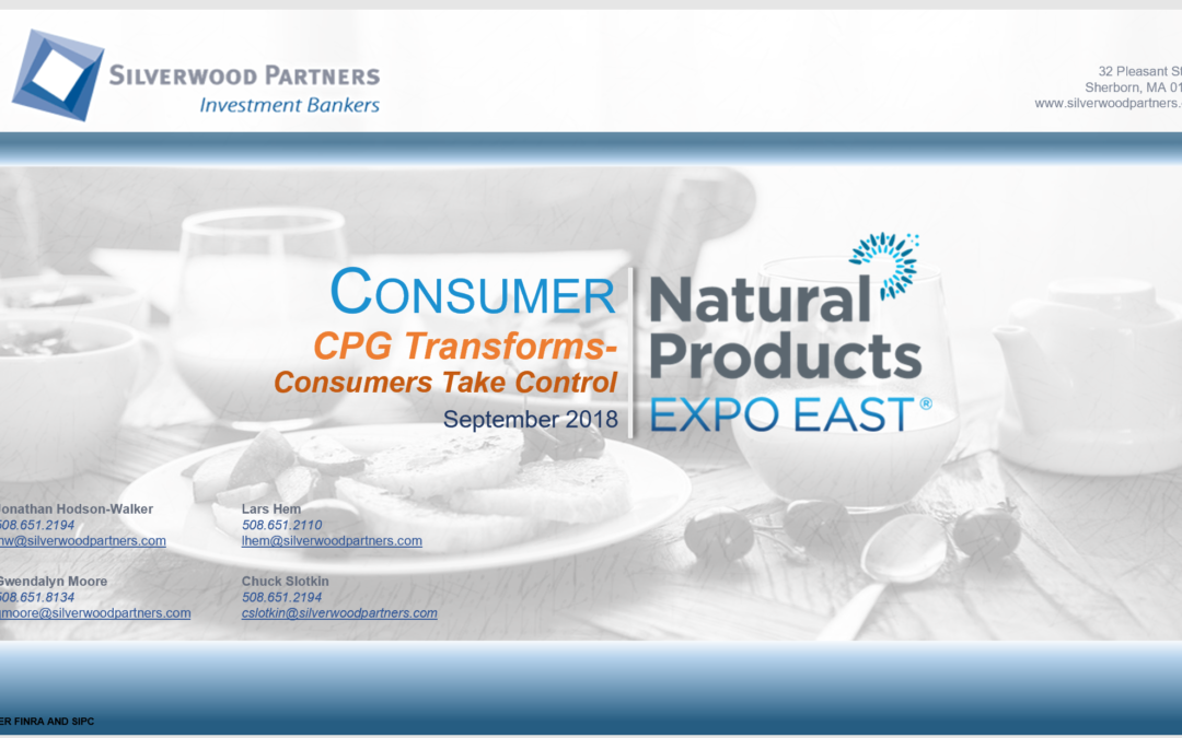 CPG Transforms – Silverwood Industry Analysis