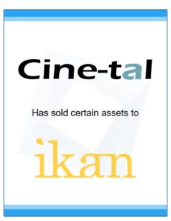 http://Cinetal%20IKan