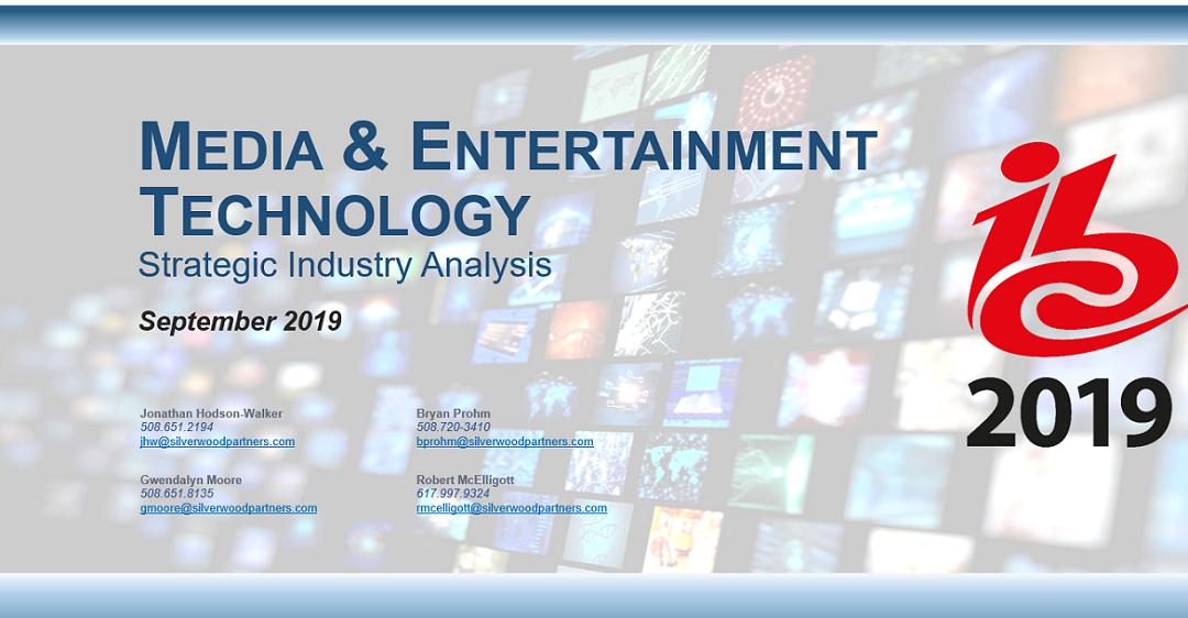 Media & Entertainment Technology Industry Analysis